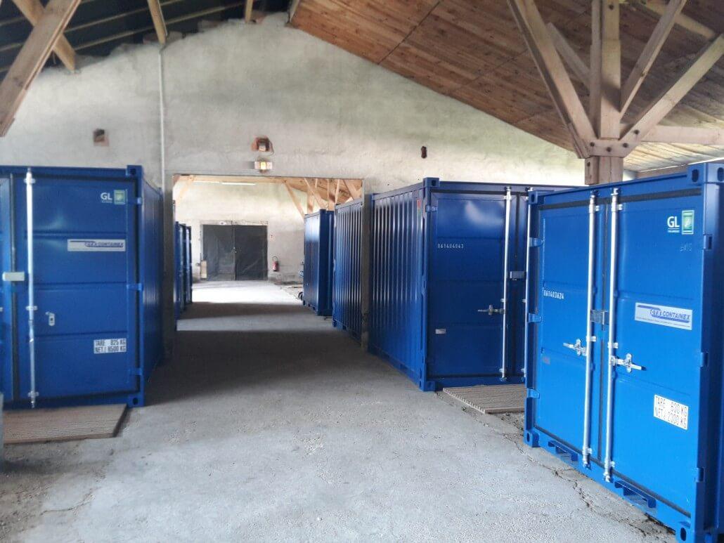 Box de stockage bordeaux Stockebox